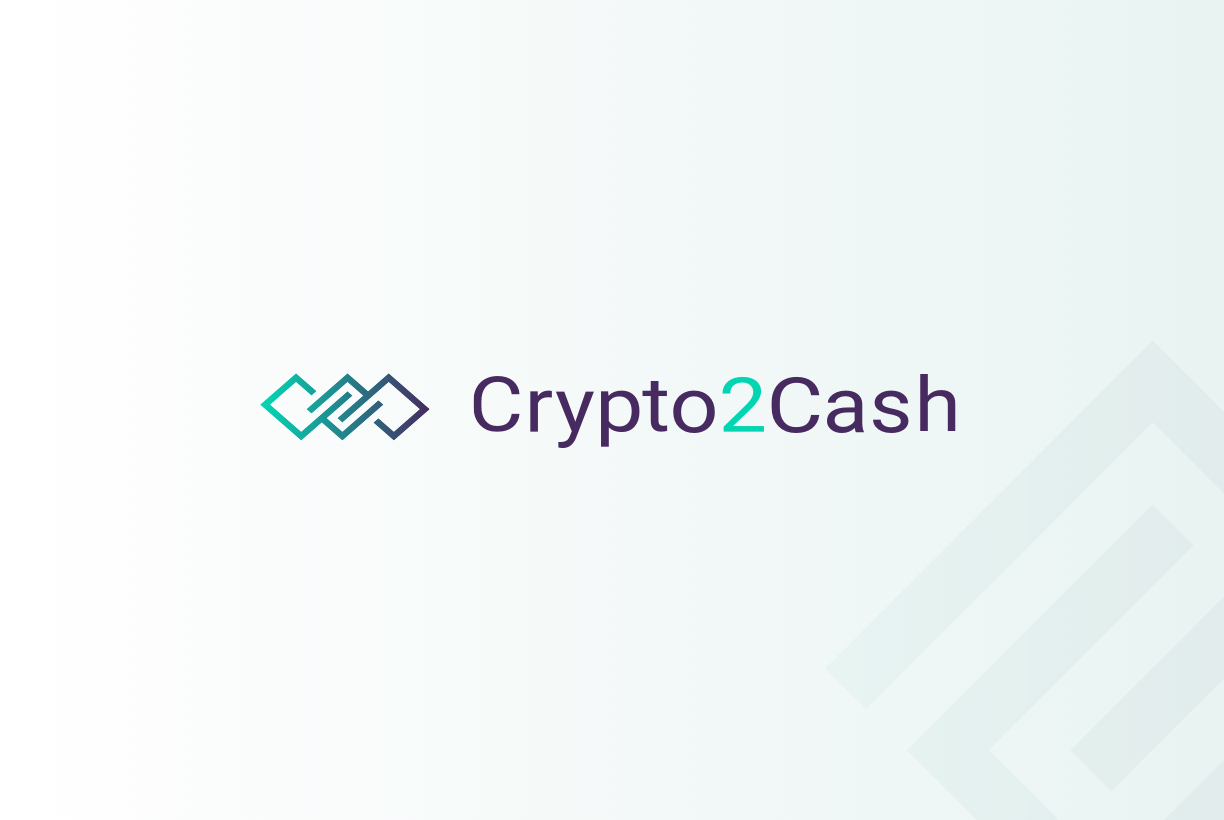 Crypto2Cash logo design
