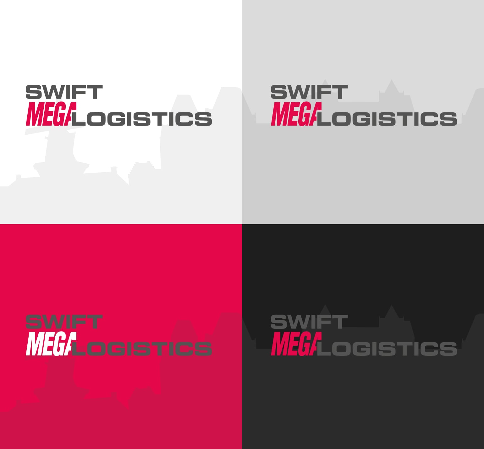 Swift Koeriers - Logo kleurenstelling