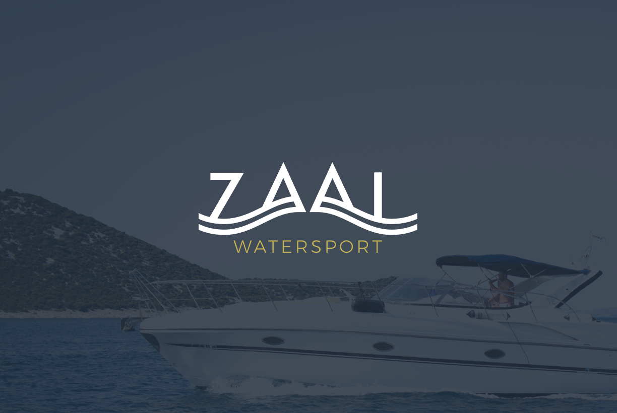 Zaal Watersport logo design